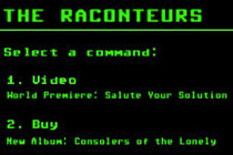 """New Raconteurs Video – """"Salute Your Solution"""""""