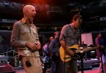 """Stipe Geeks Out Around The Boss, Buck Learns """"Born To Run"""""""