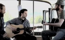 "Mason Jennings & James Mercer Do ""Something About Your Love"" On A Bus In Chile"
