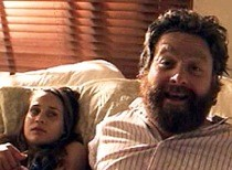 "Zach Galifianakis & Fiona Apple – ""Up In Them Guts"""