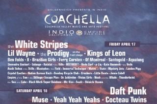 Coachella 2009 Line-Up Not Revealed