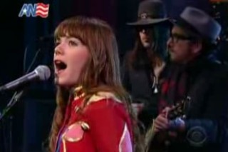Jenny Lewis And Elvis Costello Sing For Letterman