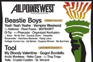 All Points West 2009 Lineup Brings My Bloody Valentine, Yeah Yeah Yeahs, Tim & Eric