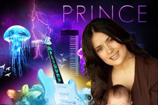 Prince Song About Salma Hayek's Baby Says Her Mom's A MILF