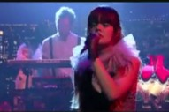 "Bat For Lashes Brings ""Daniel"" To Letterman"