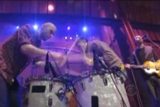 "White Rabbits Bring Their ""Percussion Gun"" To Letterman"