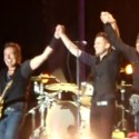 "Bruce Springsteen And Brandon Flowers Trek Down ""Thunder Road"""