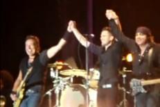 """Bruce Springsteen And Brandon Flowers Trek Down """"Thunder Road"""""""