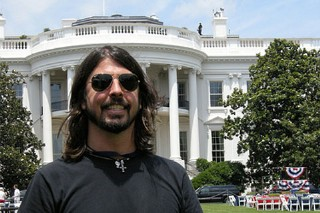"""Foo Fighters Debut """"Wheels"""" At The White House"""