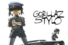 "Gorillaz ""Stylo"" Album Art"