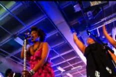 Macy Gray Covers Arcade Fire At Perez Hilton's SXSW Party