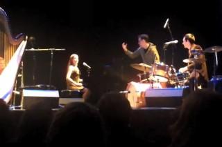 Fred Armisen Joins Joanna Newsom In Concert