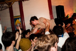 Surfer Blood/the morning benders/Beach Fossils/Grooms/Turbo Fruits @ Market Hotel, Brooklyn 2/27/10
