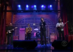 Band Of Horses Letterman Video