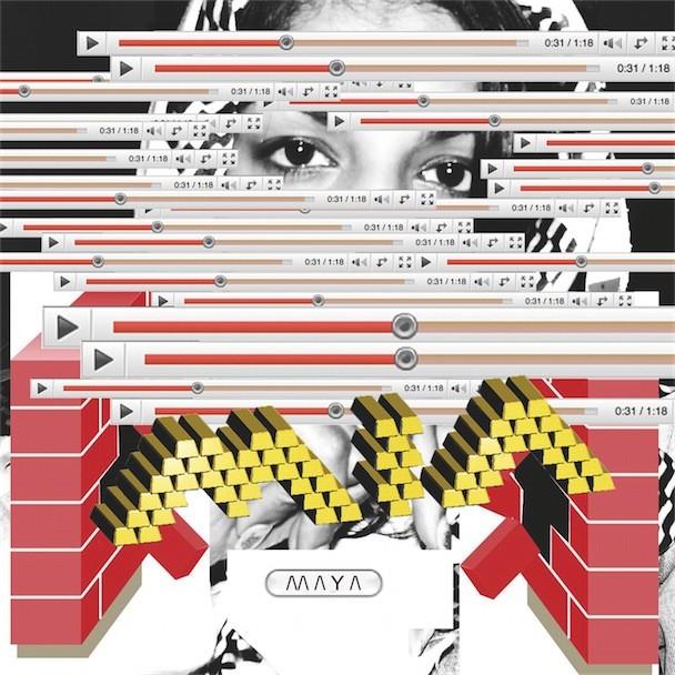 M.I.A. - MAYA Album Art