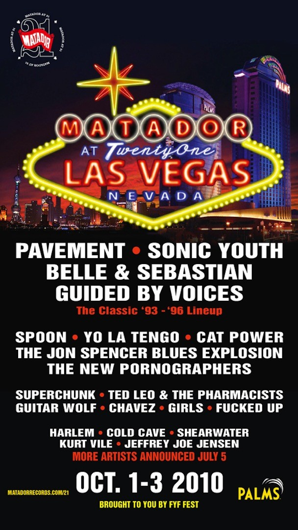 Guided By Voices Reunite For Matador 21st Anniversary Party