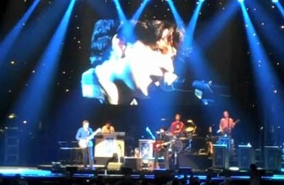 "Vampire Weekend & Conan O'Brien Do ""Walcott"" At Radio City Music Hall"