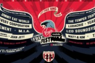 Virgin Mobile FreeFest 2010 Lineup