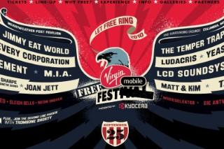 Virgin Mobile FreeFest 2010 Lineup