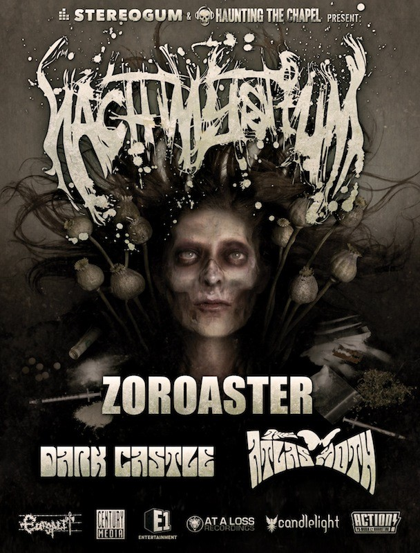 Nachtmystium 2010 Tour Flyer