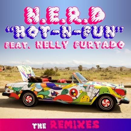 """N.E.R.D. - """"Hot-N-Fun"""" Remixes"""