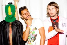 Röyksopp And A Green Guy