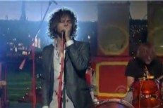 """the Flaming Lips - """"See The Leaves"""" Letterman"""