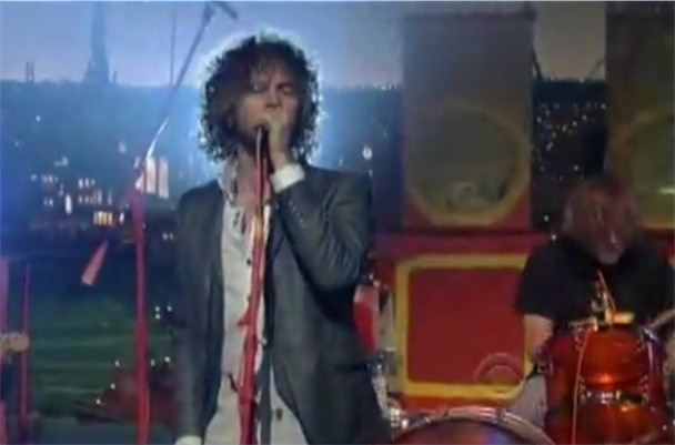 "the Flaming Lips - ""See The Leaves"" Letterman"