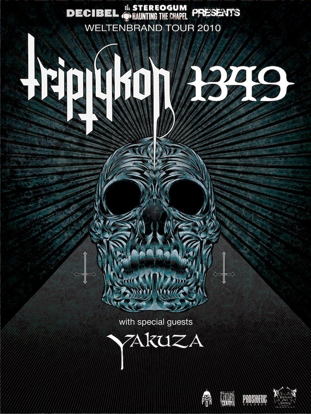 Triptykon Hellhammer Celtic Frost First North American