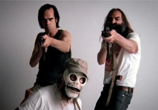 "Grinderman - ""Heathen Child"" Video"