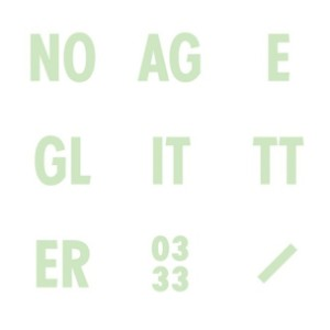 No Age Glitter Album Art
