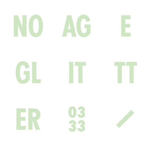 No Age Glitter Album Art