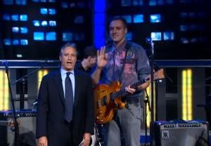 Win Butler & Jon Stewart, Arcade Fire On The Daily Show