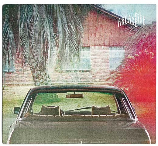 Arcade Fire - The Suburbs Album Art