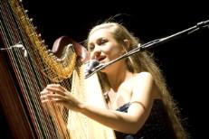 Joanna Newsom, Robin Pecknold @ Orpheum Theater, Los Angeles 7/31/10