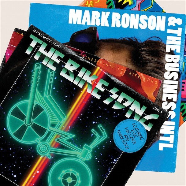 Mark Ronson The Bike Song Album Art