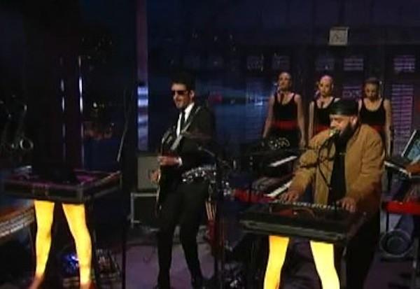 Chromeo On Letterman 2010