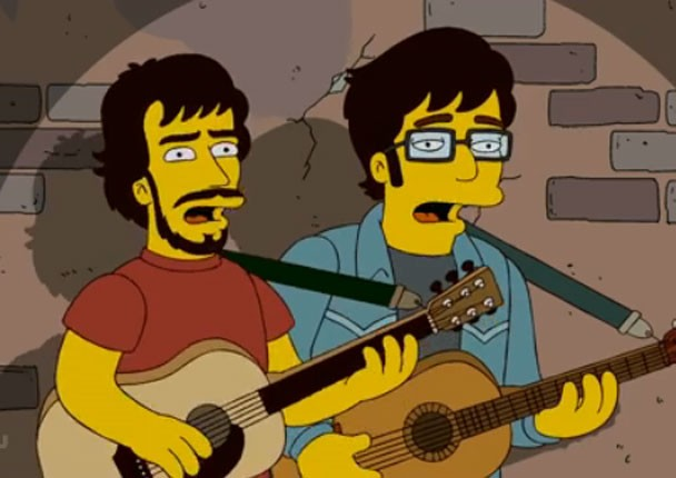 Flight Of The Conchords on The Simpsons - Sprooklyn