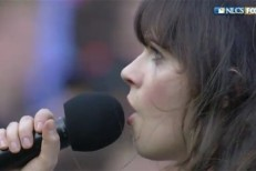 Zooey Deschanel Baseball Video