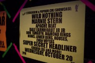 Stereogum & Popgun STEREO★GUN CMJ Party, Santos Party House, NYC 10/20/10