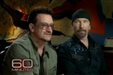 Bono The Edge 60 Minutes Spider-Man