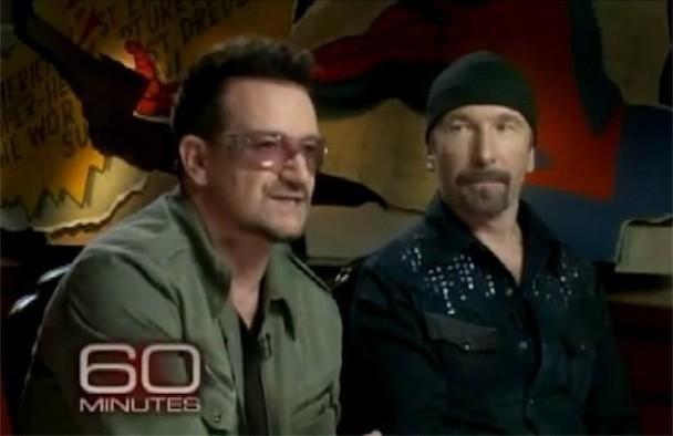 Bono The Edge 60 Minutes Spider-Man