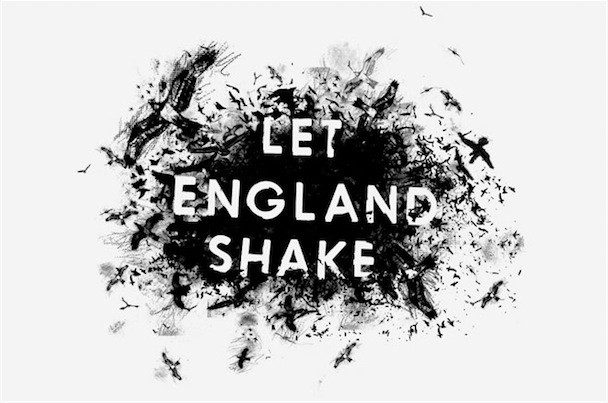 PJ Harvey Let England Shake Album Art