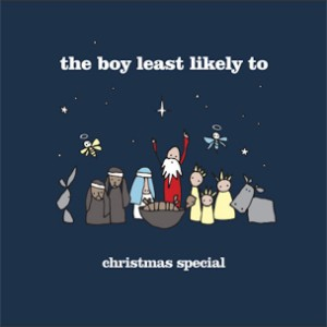 The Boy Least Likely To Christmas Special Album Art