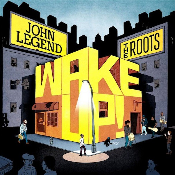 The Roots And John Legend Wake Up Album Art