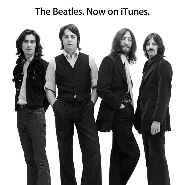 The Beatles, Now On iTunes