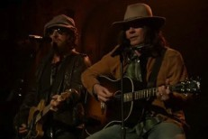 "Bruce Springsteen & Jimmy Fallon (As Neil Young) Cover ""Whip My Hair"""