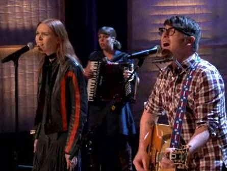The Decemberists & Gillian Welch On Conan O'Brien