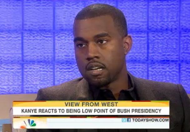 Kanye West Matt Lauer