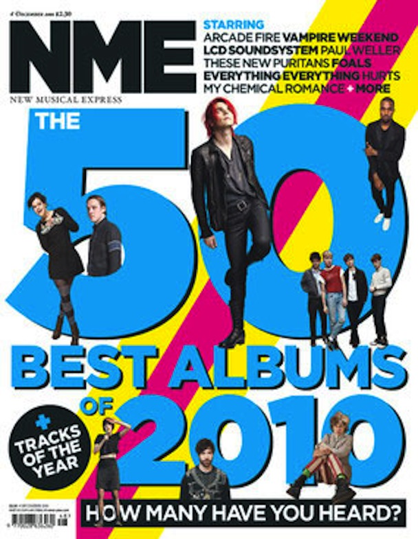 NME's Top Albums Of 2010